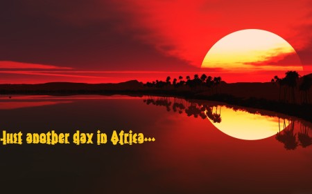 AFrican sunset (from horses of the sun.wordpress.com_