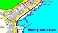 Kalk bay map
